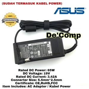 Harga adaptor charger casan laptop asus vivobook q500a s300ca s400ca | HARGALOKA.COM