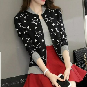 Harga y5   jkt baju hangat sweater jaket cewek wanita cantik kekinian korean   | HARGALOKA.COM