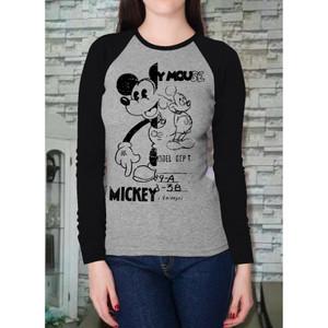 Harga vin c fashion kaos oblong wanita kaos mickey mouse kaoswanita kekinian   hitam | HARGALOKA.COM