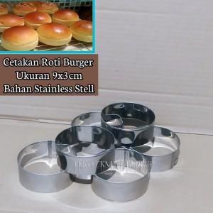 Harga cetakan burger cetakan roti bulat stainless | HARGALOKA.COM