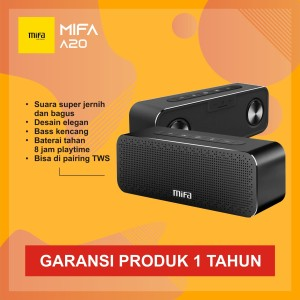 Harga mifa a20 bluetooth speaker stereo portable hifi 30w hd bass   hitam   | HARGALOKA.COM