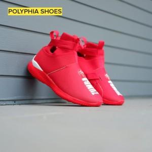 Harga sepatu slip on zumba high grade original wanita red | HARGALOKA.COM