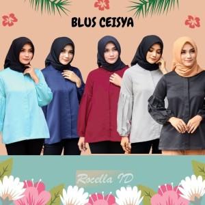 Harga rocella blus ceisya blus formal blus remaja blus casual blus polos   pilih warna | HARGALOKA.COM