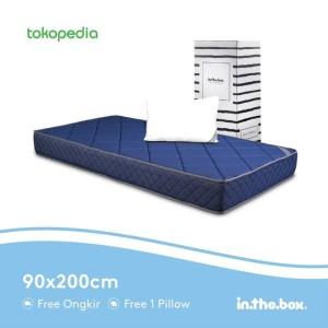Harga kasur matrass spring bed inthebox hybrid 90 200 single size | HARGALOKA.COM