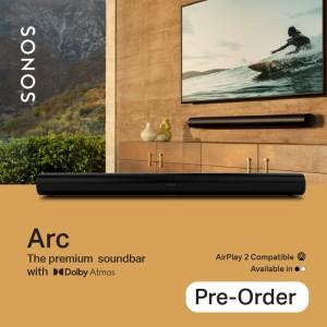 Harga sonos arc speaker soundbar with dolby | HARGALOKA.COM