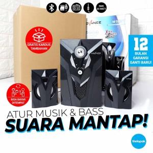 Harga speaker aktif bluetooth advance m10bt 2 1 35watt mp3 fm radio usb | HARGALOKA.COM