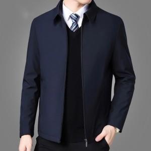 Harga jaket pria formal bahan katun dril terbaru   putih | HARGALOKA.COM