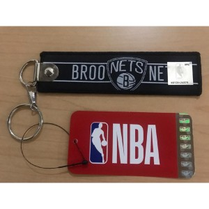 Harga gantungan kunci   brooklyn nets nba straps with detachable   HARGALOKA.COM