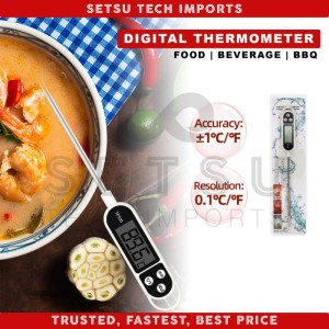 Harga termometer kopi makanan minuman daging kuah food thermometer | HARGALOKA.COM