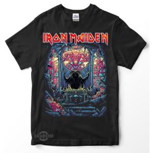 Harga premium tshirt iron maiden kaos musik heavy metal   | HARGALOKA.COM