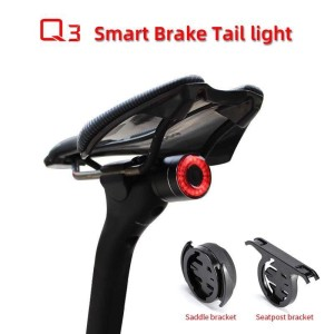 Harga lampu sepeda belakang rockbros q3 smart light tail rear brake | HARGALOKA.COM