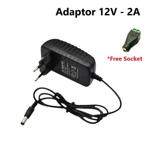 Harga adaptor 12v 2a lampu led elektronik mobil motor | HARGALOKA.COM