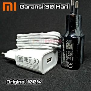 Harga charger xiaomi redmi 9c mi a2 lite redmi 6 pro original 100   putih   | HARGALOKA.COM