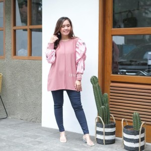 Harga isuka fashion theresia top fit to ld 110 120cm   | HARGALOKA.COM