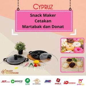 Harga cetakan donat martabak mini kue cypruz snack maker | HARGALOKA.COM