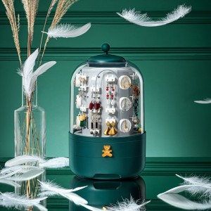 Harga jjrc jewelry organizer box tower vanity kotak perhiasan rak   | HARGALOKA.COM