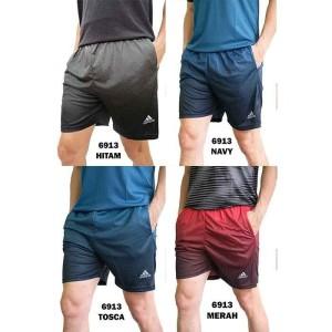 Harga celana pendek olahraga pria 6913 training voli gym futsal tenis volly   tosca | HARGALOKA.COM