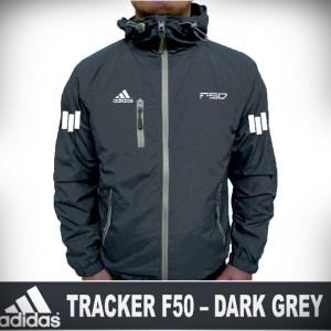 Harga jaket tracker f50 dark grey jaket pria wanita harian termurah   | HARGALOKA.COM