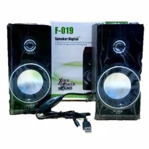 Harga fleco f 019 speaker aktif multifungsi music audio laptop komputer amp | HARGALOKA.COM