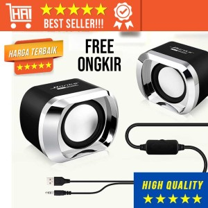 Harga super bass speaker dual stereo 2 speker hp pc komputer laptop | HARGALOKA.COM
