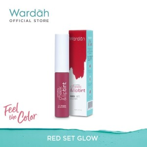 Harga wardah everyday cheek and lip tint 01 red set glow 5 5 | HARGALOKA.COM