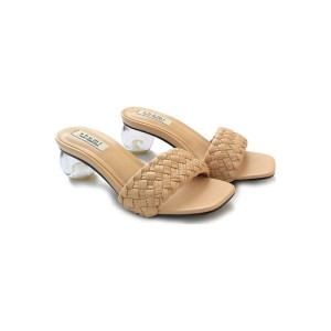 Harga shumi collection heels wanita motif kepang mirror bahan import sm12   milo | HARGALOKA.COM