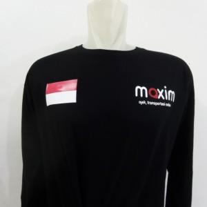 Harga kaos   baju maxim kurir transportasi online   tshirt maxim   HARGALOKA.COM