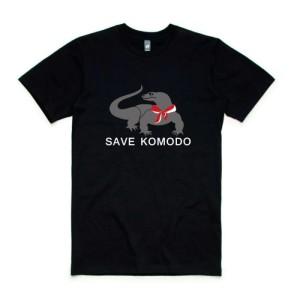 Harga kaos distro save komodo indonesia baju tshirt wild | HARGALOKA.COM