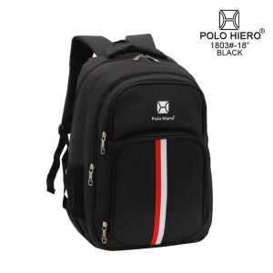 Harga tas ransel polo hiero 1803 tas pria laptop sekolah   | HARGALOKA.COM
