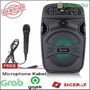 Harga speaker meting gmc 897 c speaker portable sepiker pengajian free mic | HARGALOKA.COM
