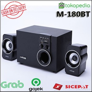 Harga speaker advance aktif portable m180bt bluetooth subwoofer | HARGALOKA.COM