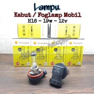 Harga bohlam lampu kabut mobil lampu foglamp h16 19w 12v warna | HARGALOKA.COM