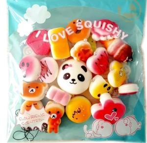 Harga squishy mainan anak paket slow rising 20 pcs paket   HARGALOKA.COM