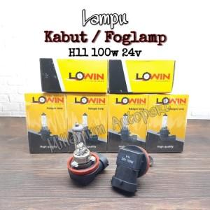Harga bohlam lampu kabut mobil lampu foglamp h11 100w 24v warna | HARGALOKA.COM
