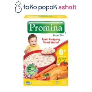 Harga promina bubur tim ayam kampung tomat wortel 100 | HARGALOKA.COM