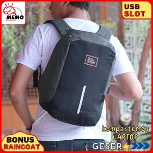 Harga tas ransel pria murah 206 tas laptop tas backpack pria tas pria | HARGALOKA.COM
