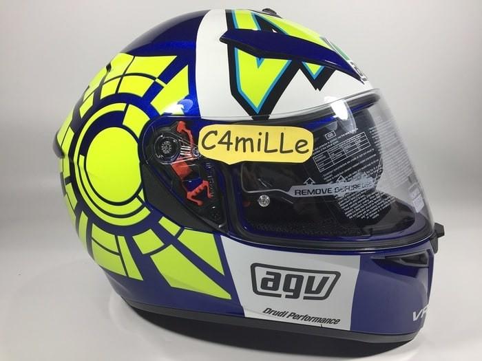 Jual Helm Full Face Agv K3 Sv Winter Test 46 Blue Double Visor Pinlock Cengkareng Aaliesha Nazaha Tokopedia